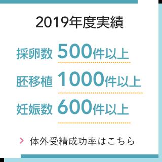 2019年実績